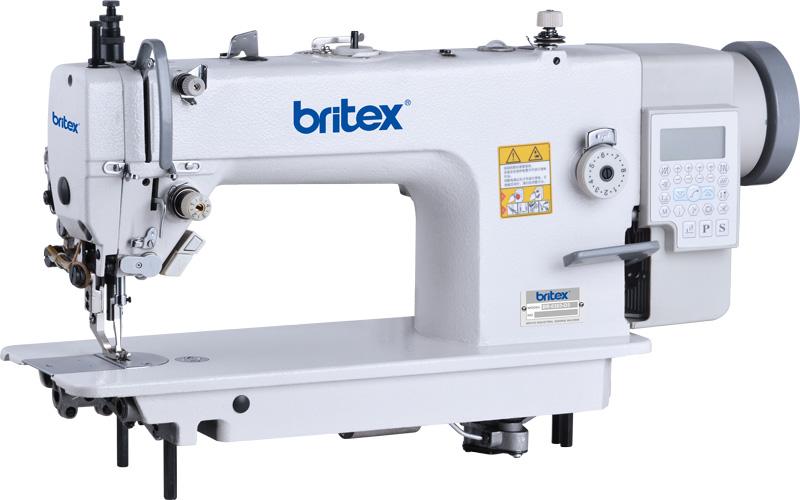 Máy may 01 kim ổ lớn chân vịt bước điện tử (Cào điện tử) Mainboard Quixing - Hiệu Britex, Model: BR-0303-D4