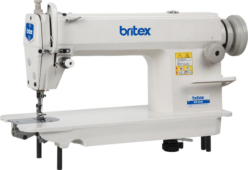 Single needle Lock stitch sewing machine - Britex Brand, Model: BR-5550
