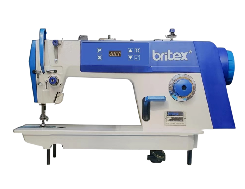 Máy may công nghiệp 01 kim liền trục mẫu mới hộp điều khiển thân trên máy - Hiệu Britex, Model: BR-7500-D1