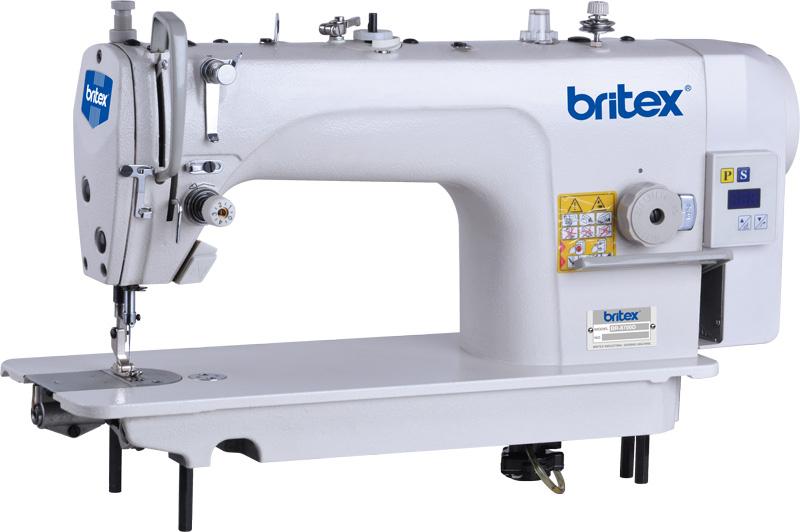 Máy may công nghiệp 01 kim liền trục đầu tròn - Hiệu Britex, Model: BR-8700D.
