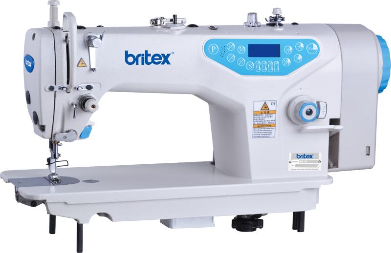 Máy may 01 kim điện tử, Cắt Chỉ & Nâng Chân Vịt tự động- Hiệu: Britex, Model: BR-A5