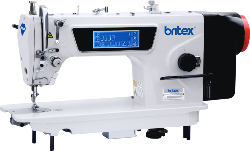 Automatic One Needle Lock stitch sewing machine with Touch Screen Panel, for Medium and Thick material - Britex, Model: BR-W5