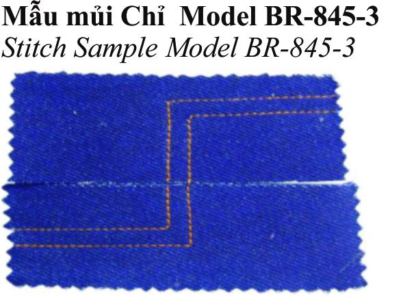 Máy may Công Nghiệp 02 kim Di Động, Ổ nhỏ - Hiệu: Britex, Model: BR-845-3/5.
