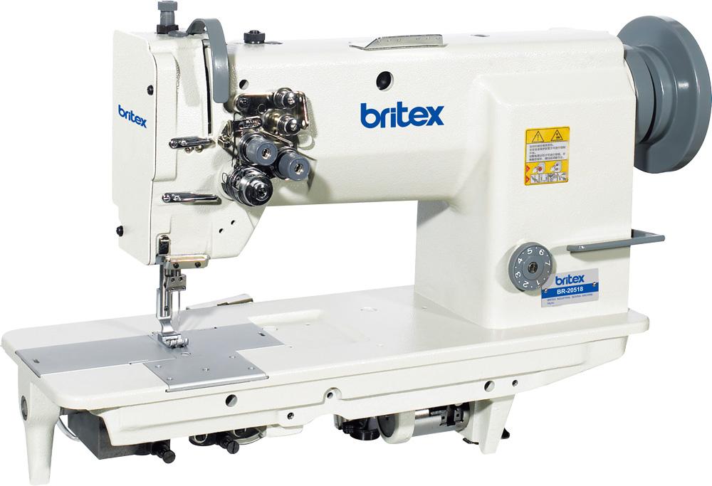 Máy may công nghiệp 02 kim cố định, ổ ngửa - Hiệu Britex, Model: BR-20518