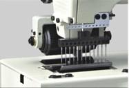 Flat-bed Double Chain Stitch 12 Needles  Sewing Machine - Brand: Britex, Model: BR-1412P