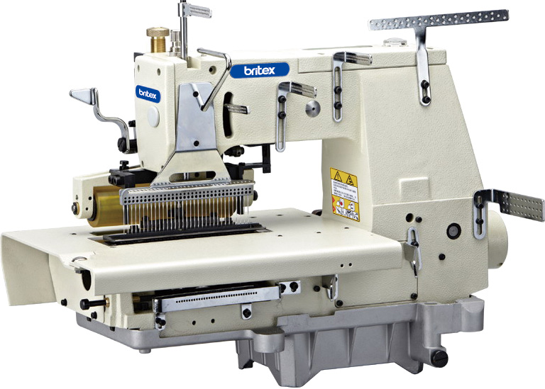 Flat-bed Double Chain Stitch 33 Needles  Sewing Machine - Brand: Britex, Model: BR-1433P