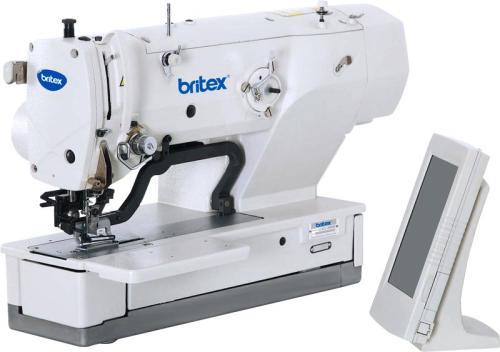 Máy làm khuy bằng, điện tử tốc độ cao - Thương hiệu: Britex, Model: BR-1790A