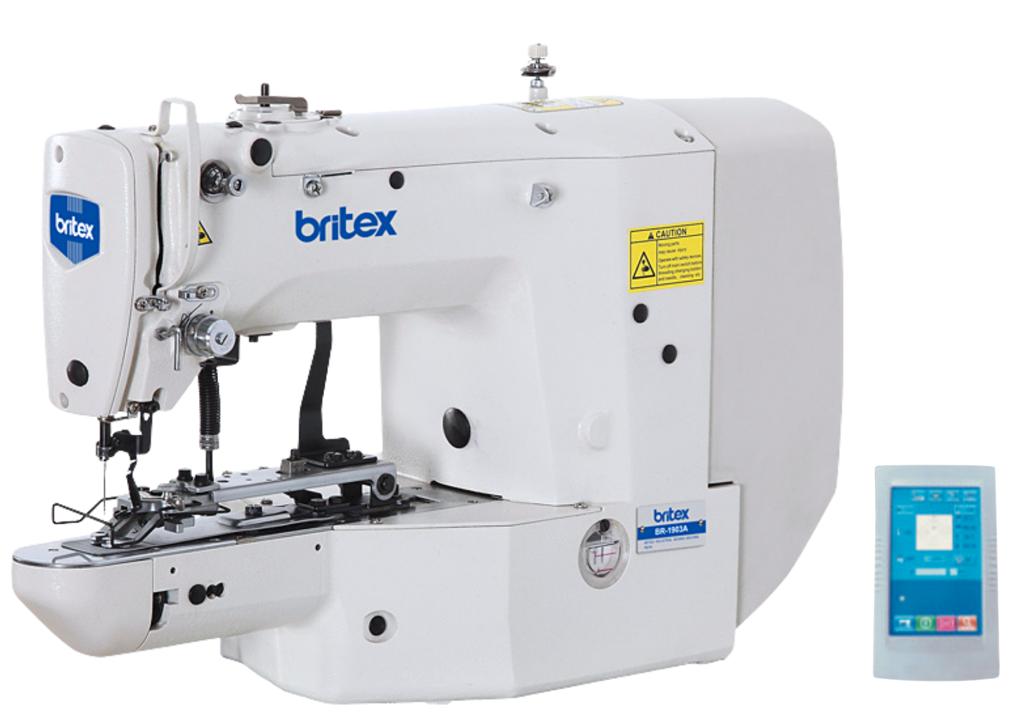 Máy đóng (làm) nút điện tử tốc độ cao - Thương hiệu: Britex, Model: BR-1903A