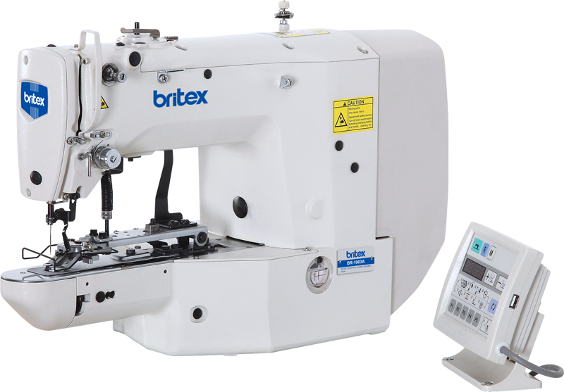 Máy làm nút điện tử tốc độ cao - Thương hiệu: Britex, Model: BR-1903A