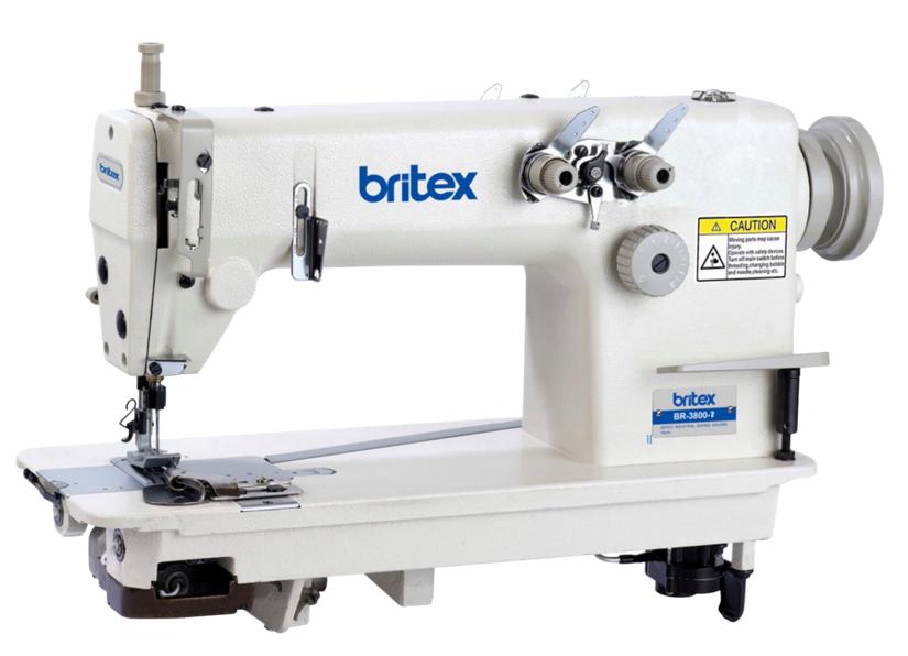 Máy may công nghiệp 02 kim móc xích - Hiệu Britex, Model: BR-3800D-2.