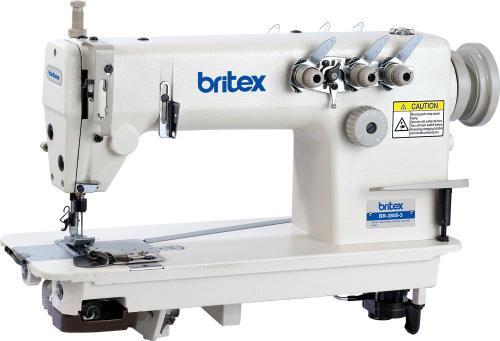 Máy may công nghiệp 03 kim móc xích - Hiệu Britex, Model: BR-3800-3 / BR-3800D-3.