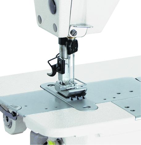 Máy may công nghiệp 02 kim móc xích Có TRỢ LỰC - Hiệu Britex, Model: BR-3800-2PL / BR-3800D-2PL