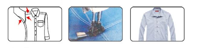 Máy may công nghiệp Cuốn Sườn 02 kim, Trợ lực bên ngoài - Hiệu: Britex, Model: BR-927-PS/02PS.