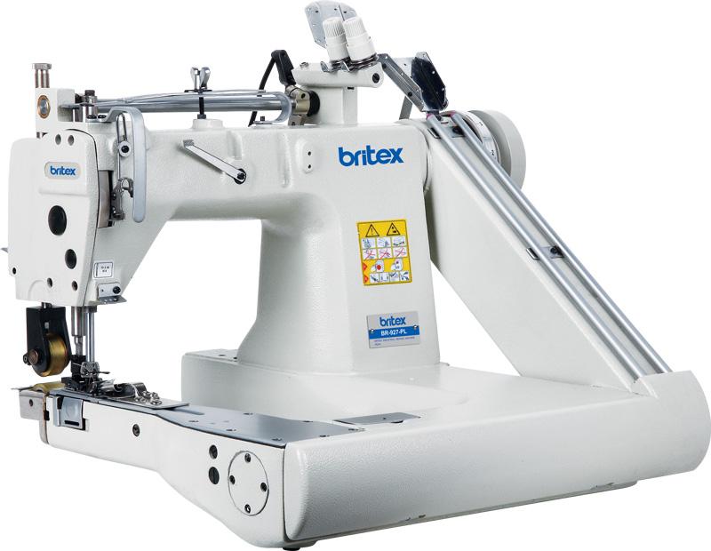 Máy may công nghiệp Cuốn Sườn 03 kim - Hiệu: Britex, Model: BR-928 / BR-928L.