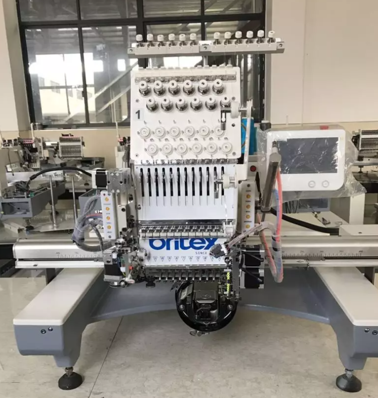 800*500 Sequin Embroidery Device on 12 Colors Single Head Embroidery Machine with Dahao system  - Hiệu Britex, Model: BR-1201S