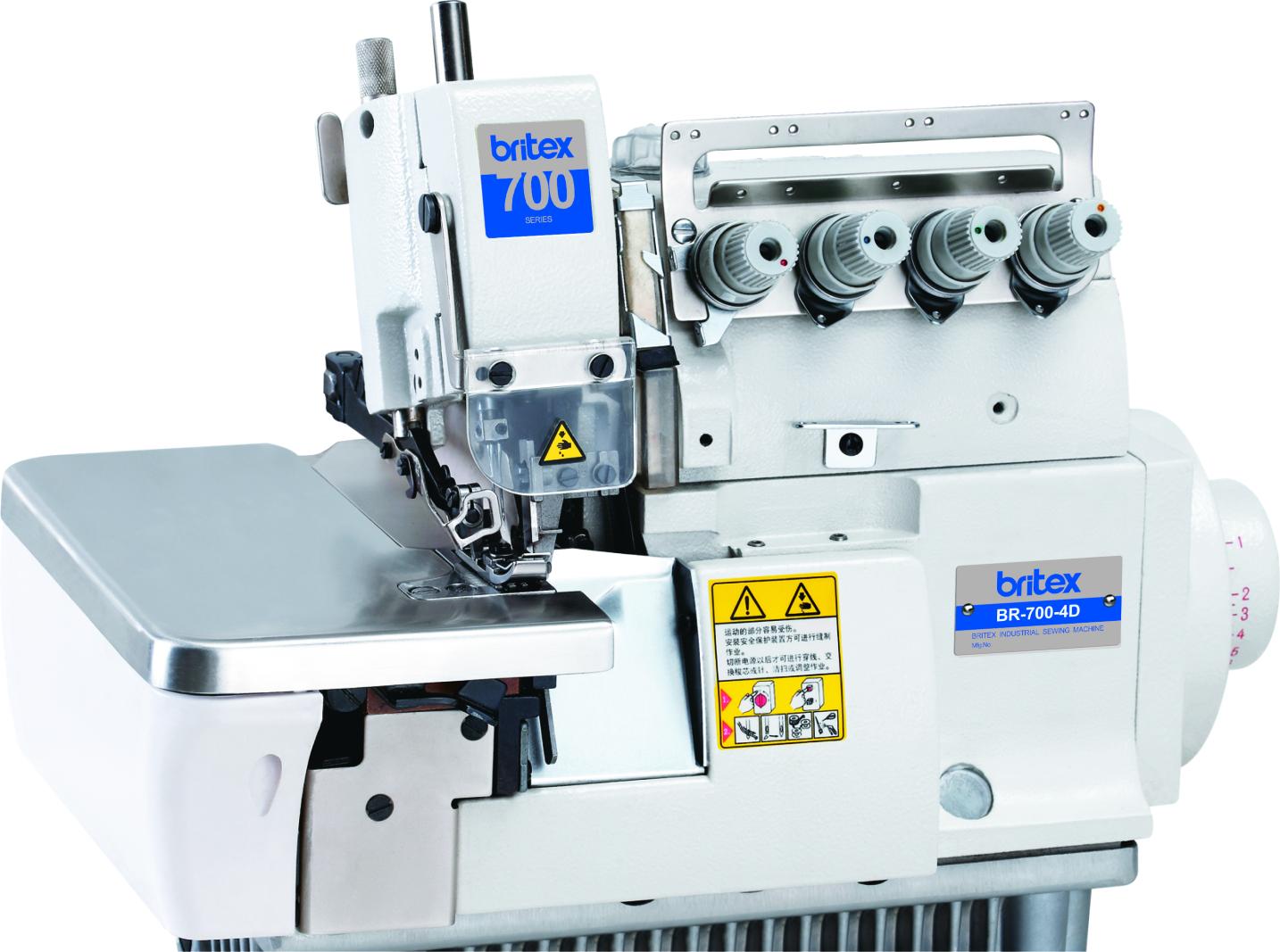 Five Thread High Speed Direct drive Overlock stitch Sewing machine - Britex Brand, Model: BR-700-5D
