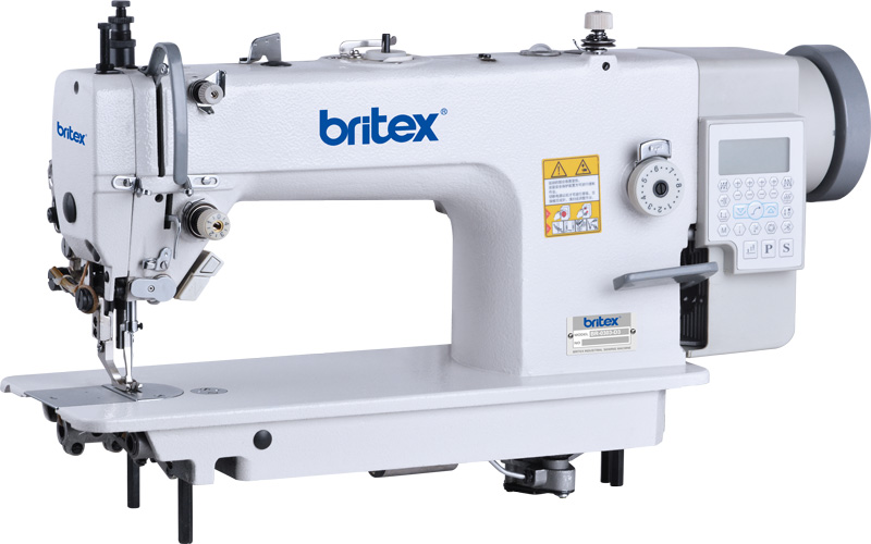 Top and Bottom Feed Automatic Lock Stitch sewing machine, Mainboard Quixing - Brand Britex, Model: BR-0303-D4