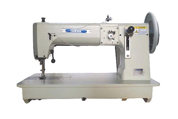 Máy may công nghiệp 02kim (cố định), ổ ngửa, bàn lừa dạng Unison/Compound Feed - Hiệu Britex, Model: BR-20628. - copy - copy